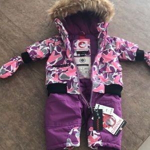 Canada weather gear Infant  snow suit 6/9M